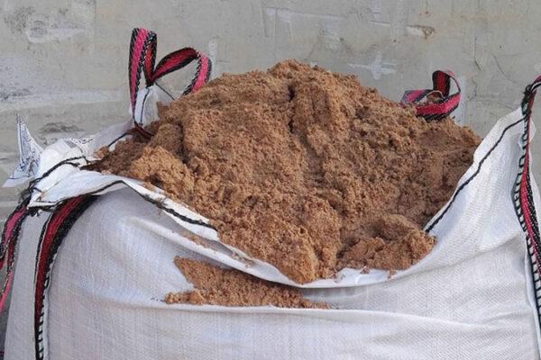 saco arena construcción
