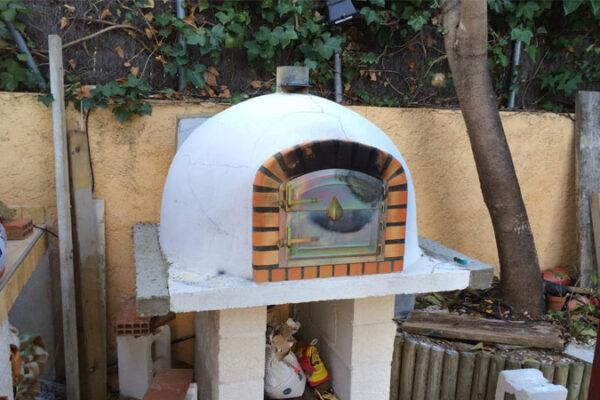 horno exterior prefabricado